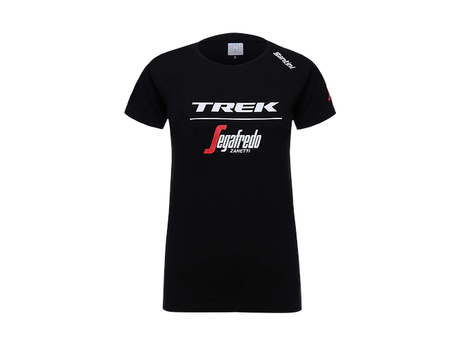 Santini Trek-Segafredo Men's Team T-Shirt black - Póló