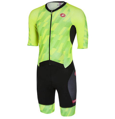 Castelli Tri All out speed suit Green / Triatlon versenyruha