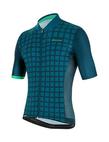 Santini MITO GRIDO - Kerékpáros mez zöld