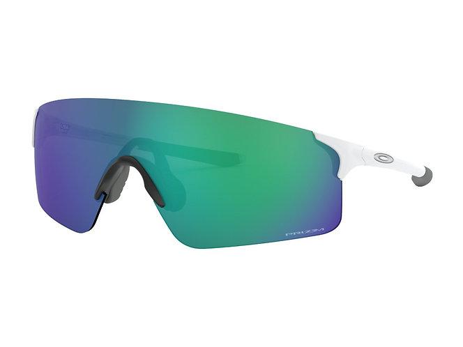 Oakley EVZero Blades Matte White Glasses - Prizm Jade - sportszemüveg
