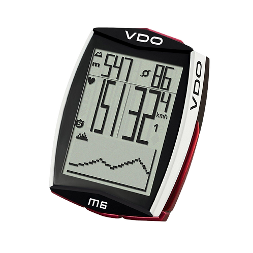 VDO M6.1 WL Cycle Computer - Kerékpáros óra