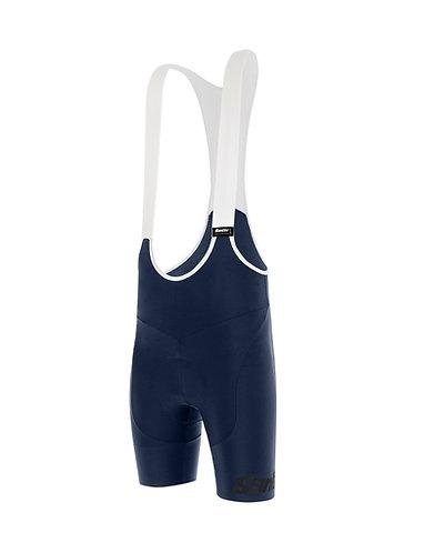 Santini TONO PURO - Női kerékpáros kantáros nadrág kék