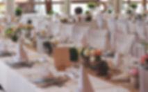 Hochzeitsdeko im Festsaal | Gathof zur Krone