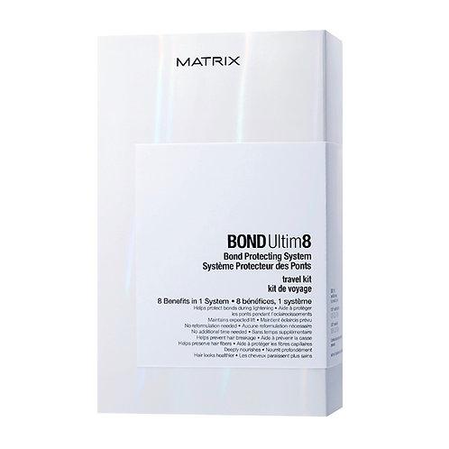 MATRIX BOND Ultim8, Защита и Восстановление волос во время окрашивания (ТРРЕВЕЛ)