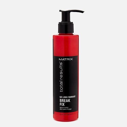 MATRIX So Long Damage Break Fix Несмываемый разглаживающий эликсир для волос