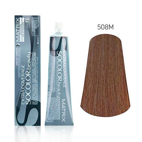 Оттенки Мокка для седых волос красителя MATRIX SOCOLOR Extra-coverage