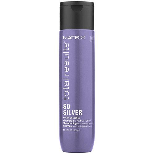 MATRIX SO SILVER Шампунь для нейтрализации желтизны для светлых волос