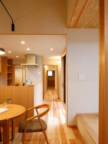 三つ庭の家/House in Izumo