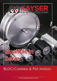 PM Motoren, BLDC und Coreless