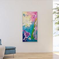 90x50x3.5cm Acrylic on canvas