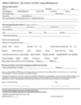 2019-2020 MECA at TBH Center - Reg form