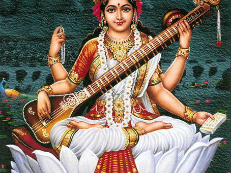 The Goddess for April - Sarasvati