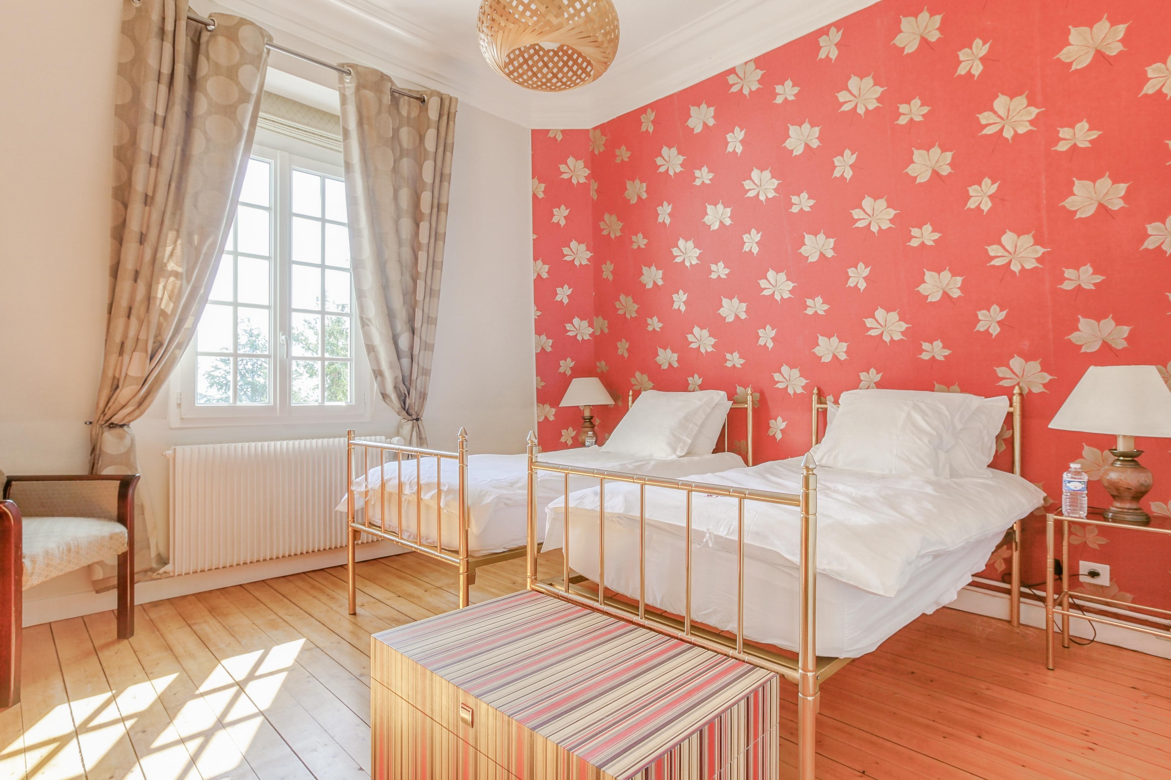 Chambre 2 de la suite Giverny