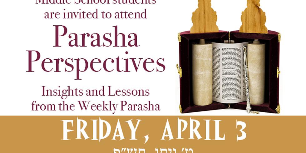 Parasha Perspectives