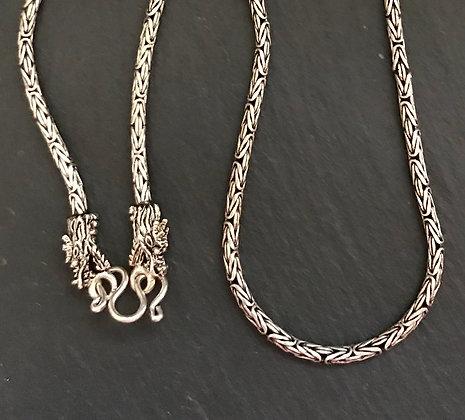 Sterling Silver Bali Chain