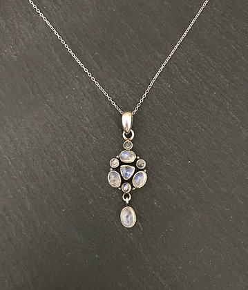 Moonstone Drop Pendant