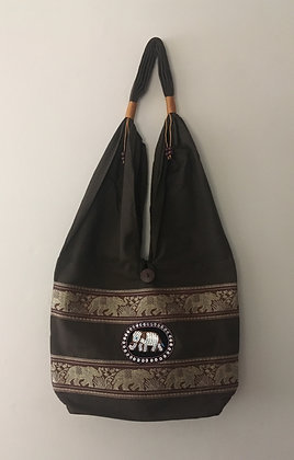 Black Elephant Bag