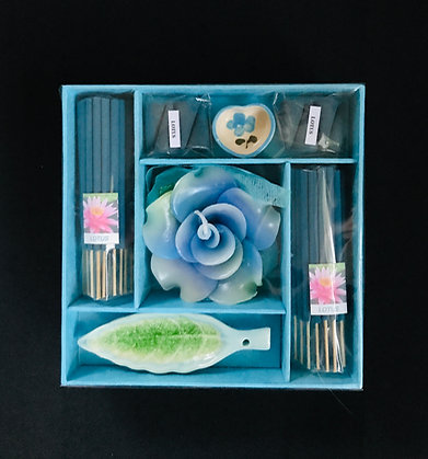 Blue Incense Set