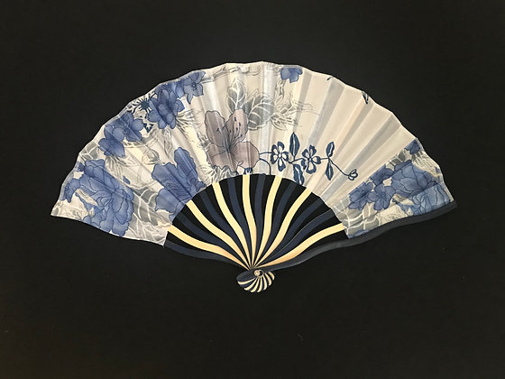 Pale Blue Handheld Fan