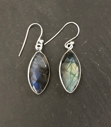 Labradorite Kite Earrings