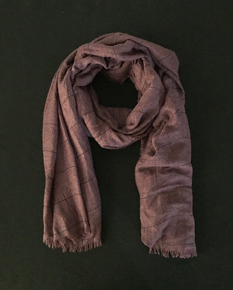 Small Check Scarf