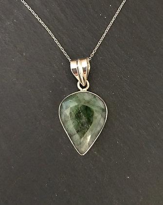 Large Emerald Pendant