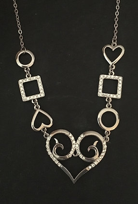 Heart Bling Necklace