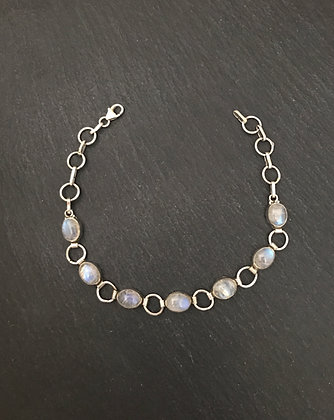 Oval Moonstone Bracelet