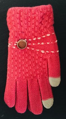 Button Design Gloves