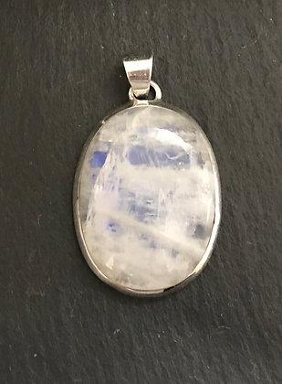 Oval Moonstone Pendant