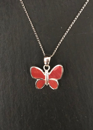 Butterfly Coral Pendant