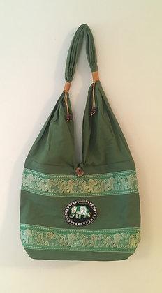 Green Elephant Bag