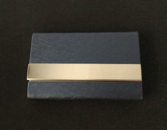 Dark Blue Card Holder