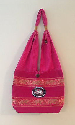 Dark Pink Elephant Bag