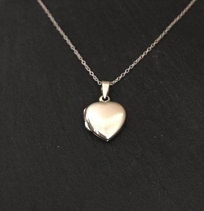 Heart Silver Locket