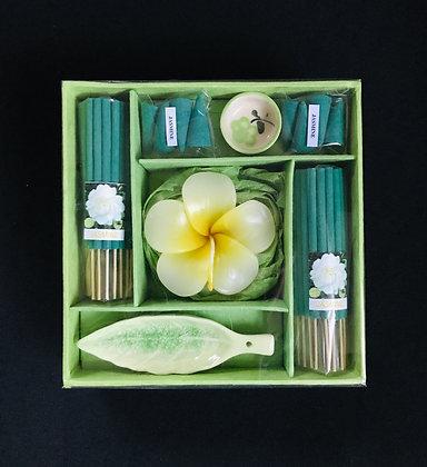 Green Incense Set