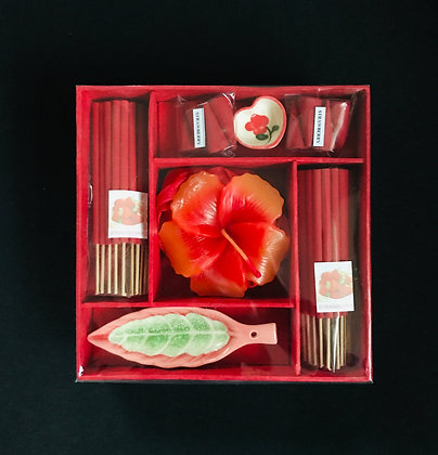 Red Incense Set