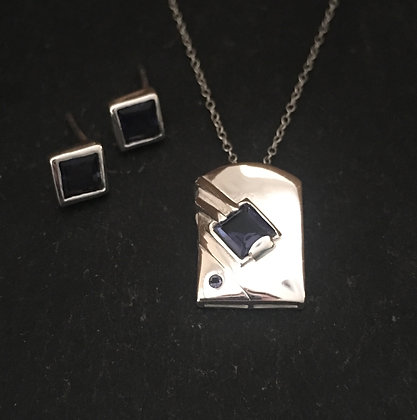 Iolite Rectangle Set