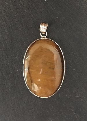 Tiger's Eye Oval Pendant