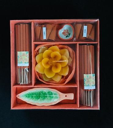 Orange Incense Set