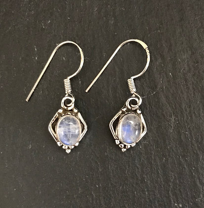 Moonstone Kite Earrings
