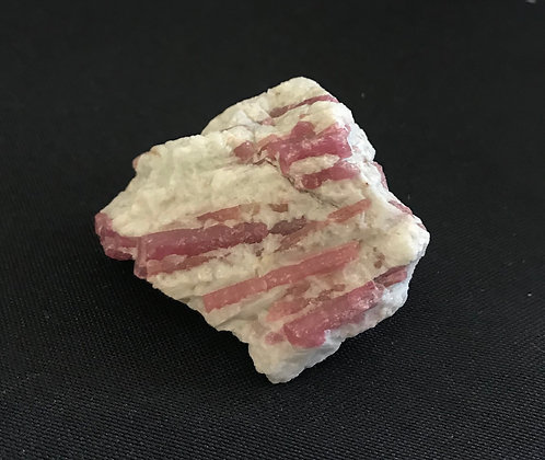 Pink Tourmaline in Quartz