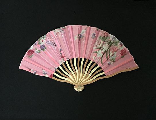 Pink Handheld Fan