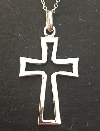 Silver Cross Pendant