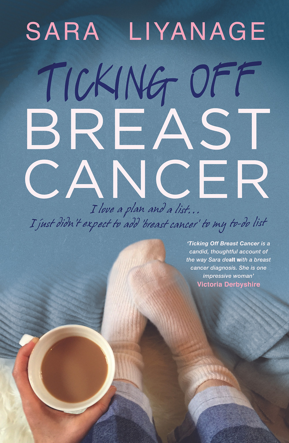 Ticking off breast cancer book cover