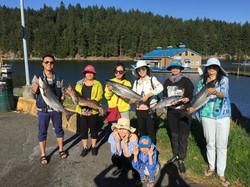 Fishing charters nanaimo great day