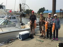 Nanaimo fishing charters bottom fishing