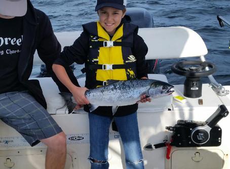 Nanaimo Fishing Charters Report 8/22/17