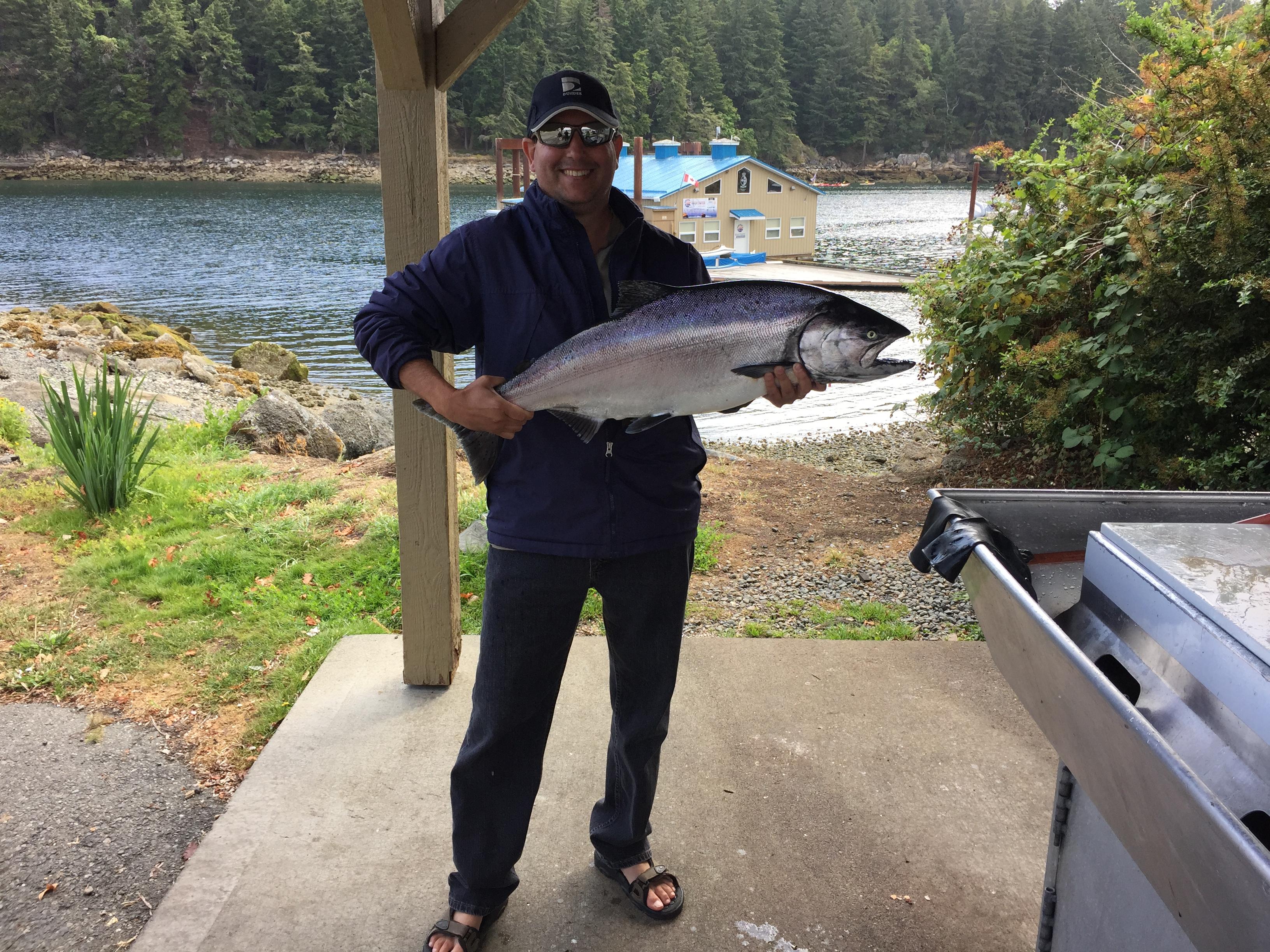 22Lbs Nanaimo Fishing Charter