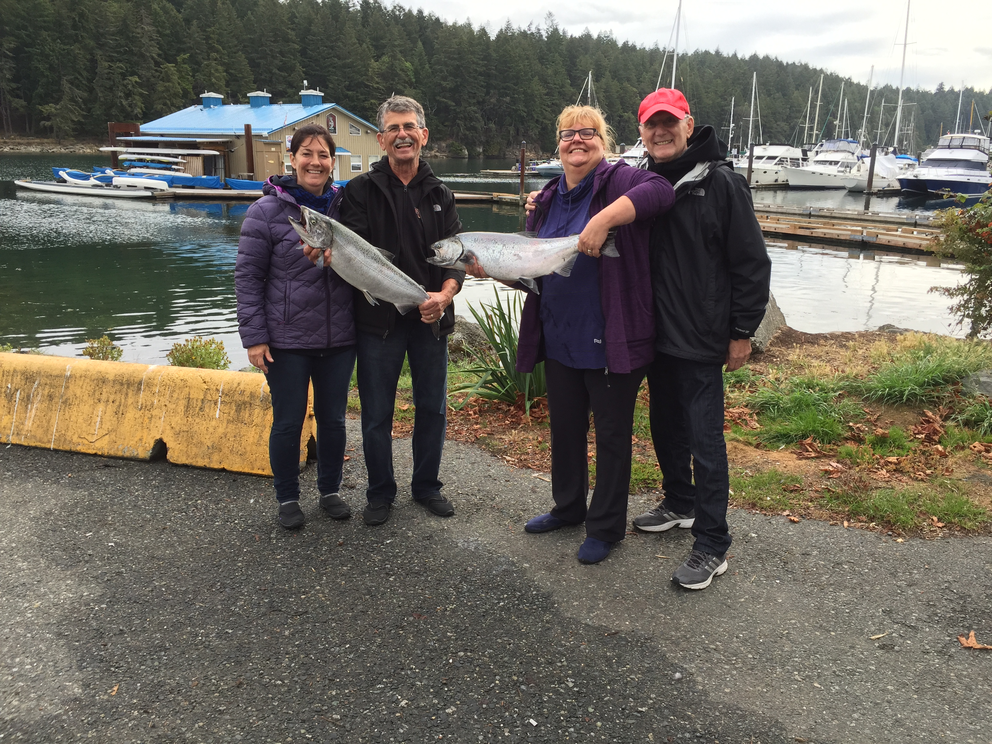 Nanaimo Salmon Fishing Charters